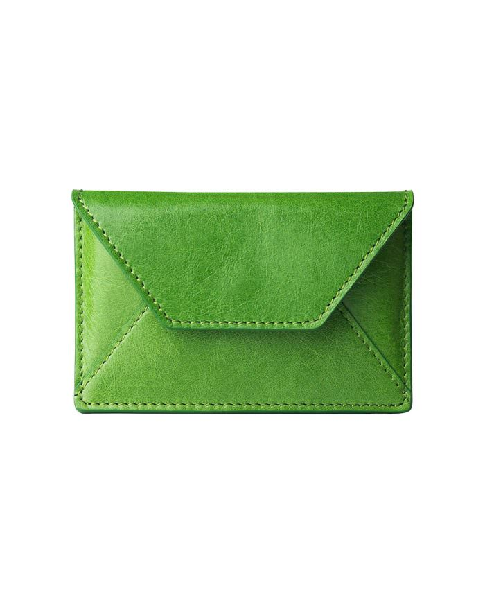 Card holder archives alto leather business card holder green reheart Gallery