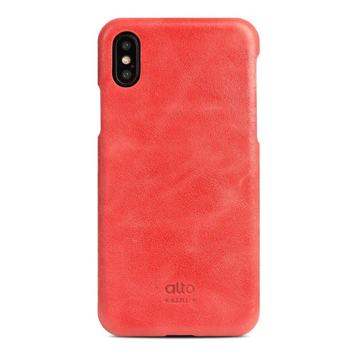 quality design 45fc3 23484 iPhone X/Xs Original Leather Case - Coral
